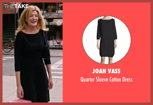 Tory Burch black dress from The Intern seen with Rene Russo (Unknown Character)