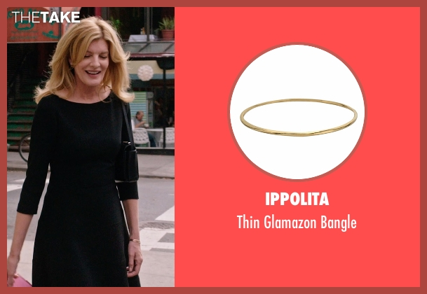 Ippolita gold bangle from The Intern seen with Rene Russo (Unknown Character)