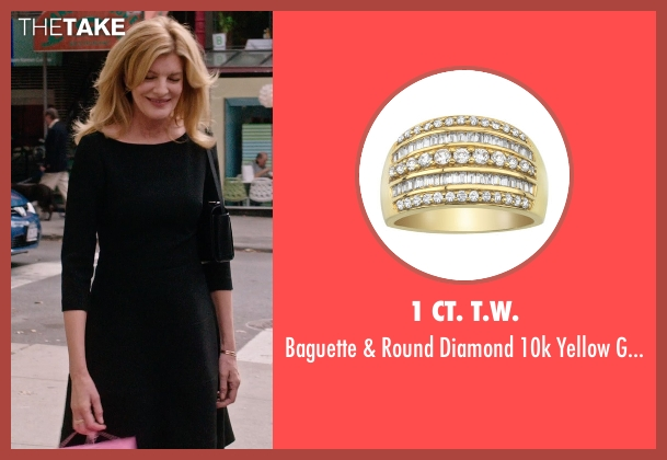 1 CT. T.W. gold ring from The Intern seen with Rene Russo (Unknown Character)