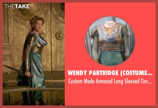 Wendy Partridge (Costume Designer) gown from Thor: The Dark World seen with Rene Russo (Frigga)