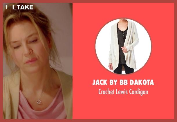 Jack By BB Dakota beige cardigan from Bridget Jones's Baby seen with Renée Zellweger (Bridget Jones)