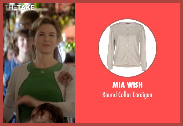 Mia Wish beige cardigan from Bridget Jones's Baby seen with Renée Zellweger (Bridget Jones)