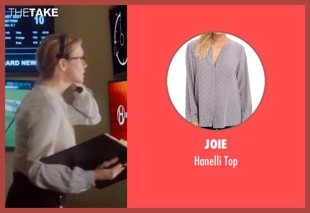 Joie gray top from Bridget Jones's Baby seen with Renée Zellweger (Bridget Jones)