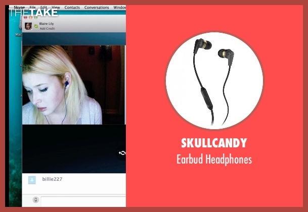 Skullcandy headphones from Unfriended seen with Renee Olstead (Jess)