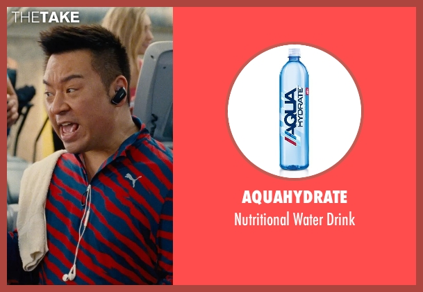 AQUAhydrate drink from Entourage seen with Rex Lee (Lloyd)