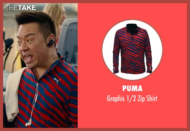 Puma red shirt from Entourage seen with Rex Lee (Lloyd)