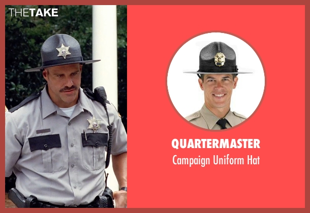 Quartermaster gray hat from Tammy seen with Rey Hernandez (Lake House Cop)