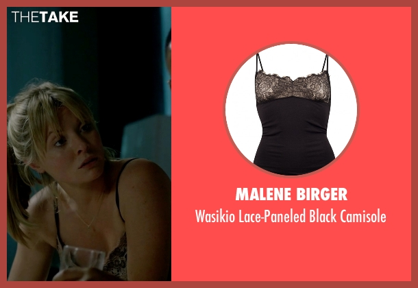 Malene Birger black camisole from Empire seen with Rhonda Lyon (Kaitlin Doubleday)
