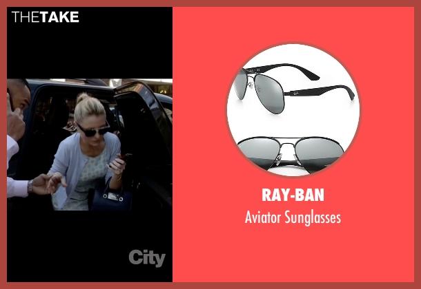 Ray-Ban black sunglasses from Empire seen with Rhonda Lyon (Kaitlin Doubleday)