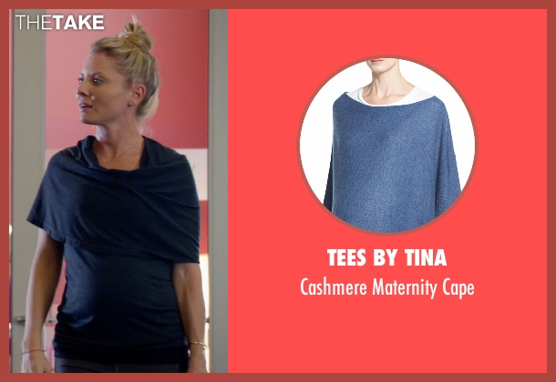 Tees by Tina blue cape from Empire seen with Rhonda Lyon (Kaitlin Doubleday)