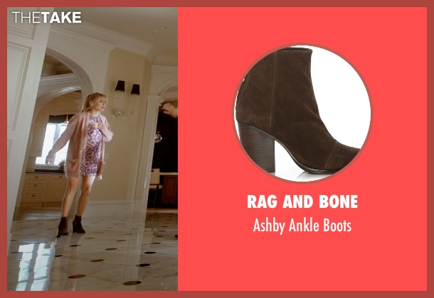 Rag and Bone brown boots from Empire seen with Rhonda Lyon (Kaitlin Doubleday)