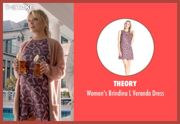 Theory dress from Empire seen with Rhonda Lyon (Kaitlin Doubleday)