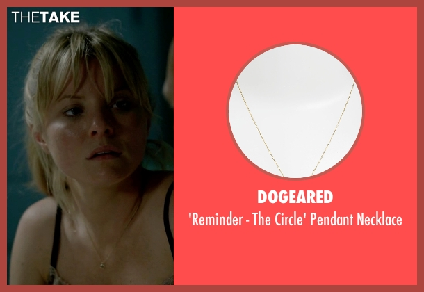 Dogeared gold necklace from Empire seen with Rhonda Lyon (Kaitlin Doubleday)
