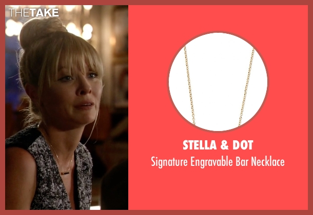 Stella & Dot gold necklace from Empire seen with Rhonda Lyon (Kaitlin Doubleday)