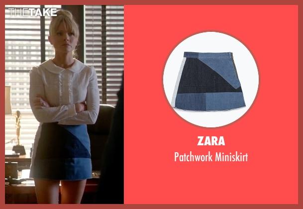 Zara miniskirt from Empire seen with Rhonda Lyon (Kaitlin Doubleday)