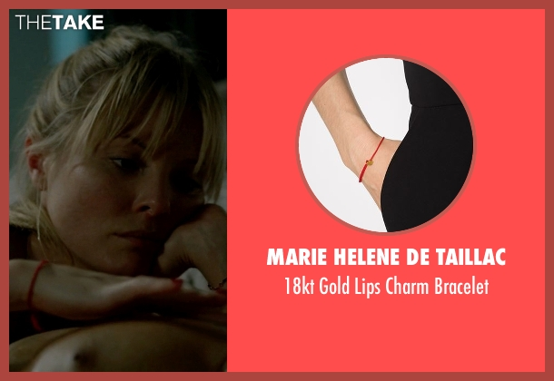 Marie Helene De Taillac red bracelet from Empire seen with Rhonda Lyon (Kaitlin Doubleday)