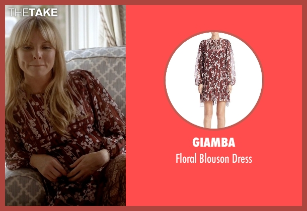 Giamba red dress from Empire seen with Rhonda Lyon (Kaitlin Doubleday)
