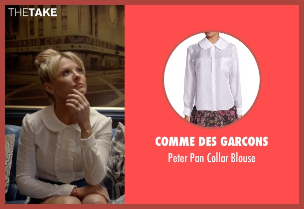 Comme des Garcons white blouse from Empire seen with Rhonda Lyon (Kaitlin Doubleday)