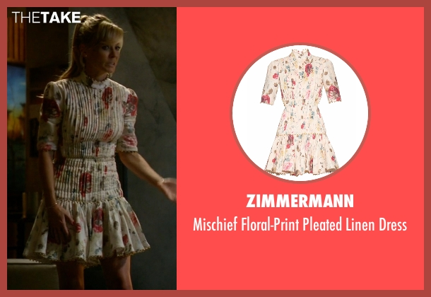 Zimmermann white dress from Empire seen with Rhonda Lyon (Kaitlin Doubleday)