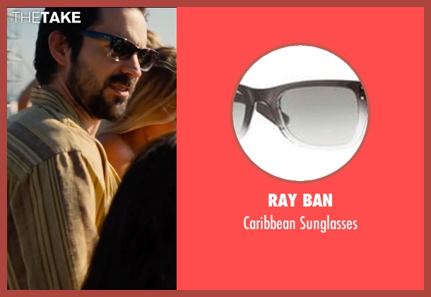 Ray Ban brown sunglasses from Entourage seen with Rhys Coiro (Billy Walsh)
