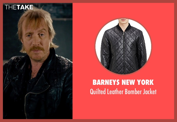 Barneys New York black jacket from She's Funny That Way seen with Rhys Ifans (Seth Gilbert)