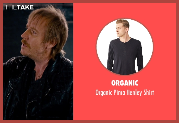 Organic black shirt from She's Funny That Way seen with Rhys Ifans (Seth Gilbert)