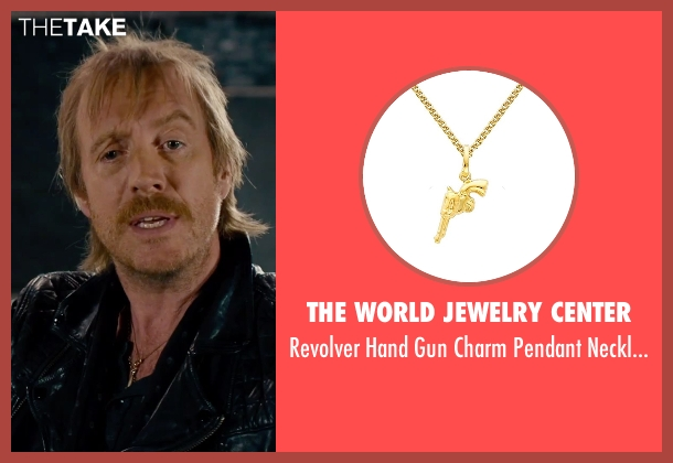 The World Jewelry Center gold necklace from She's Funny That Way seen with Rhys Ifans (Seth Gilbert)