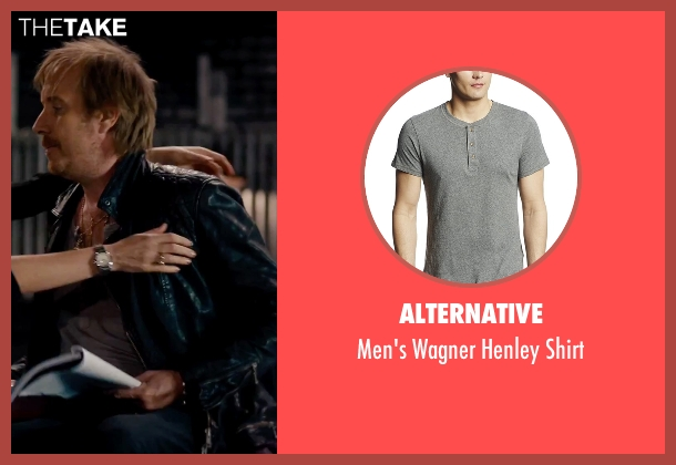 Alternative gray shirt from She's Funny That Way seen with Rhys Ifans (Seth Gilbert)