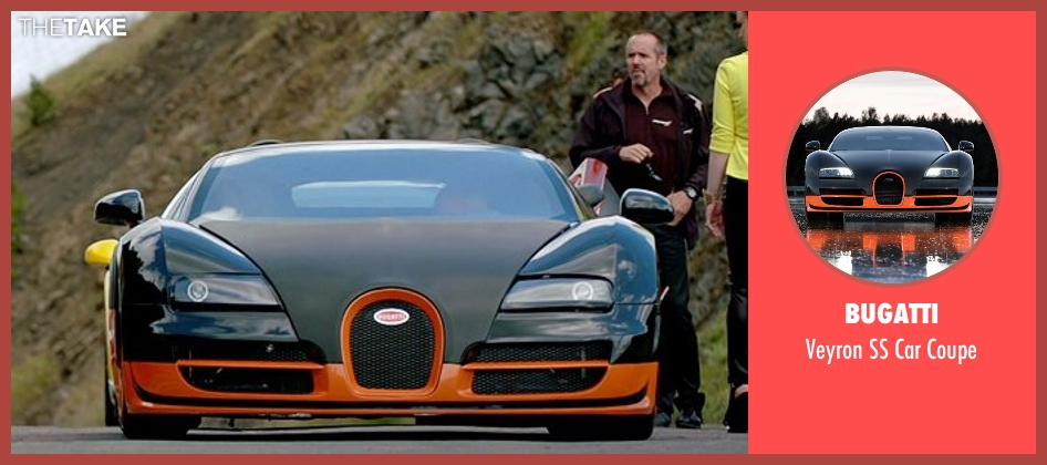 Bugatti coupe from Need for Speed seen with Rich Rutherford (English Paul)