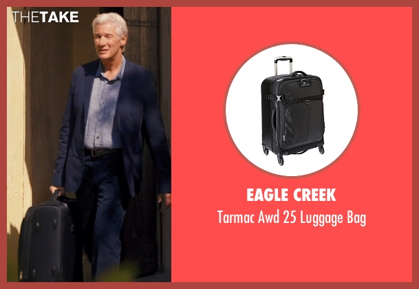 Eagle Creek black bag from The Second Best Exotic Marigold Hotel seen with Richard Gere (Guy Chambers)