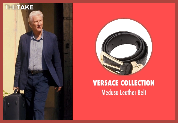 Versace Collection black belt from The Second Best Exotic Marigold Hotel seen with Richard Gere (Guy Chambers)