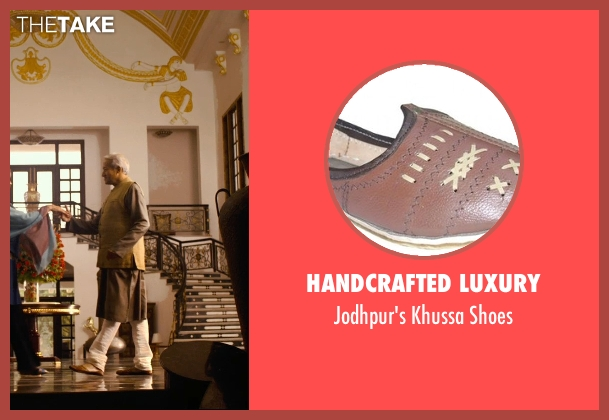 Handcrafted Luxury brown shoes from The Second Best Exotic Marigold Hotel seen with Richard Gere (Guy Chambers)