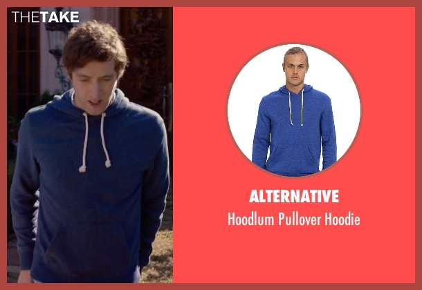 Alternative blue hoodie from Silicon Valley seen with Richard Hendricks (Thomas Middleditch)