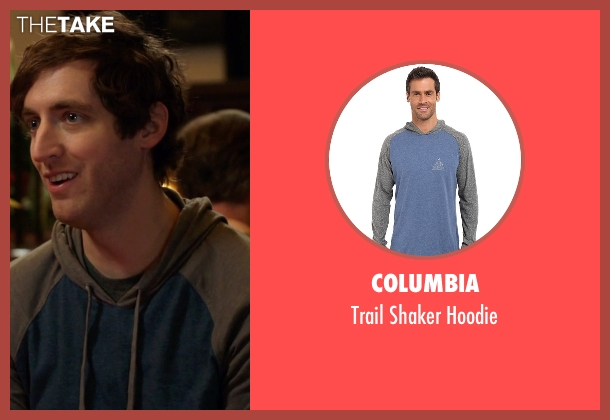 Columbia blue hoodie from Silicon Valley seen with Richard Hendricks (Thomas Middleditch)