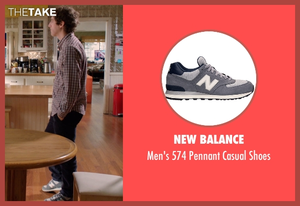 New Balance gray shoes from Silicon Valley seen with Richard Hendricks (Thomas Middleditch)