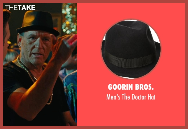 Goorin Bros. black hat from Hall Pass seen with Richard Jenkins (Coakley)