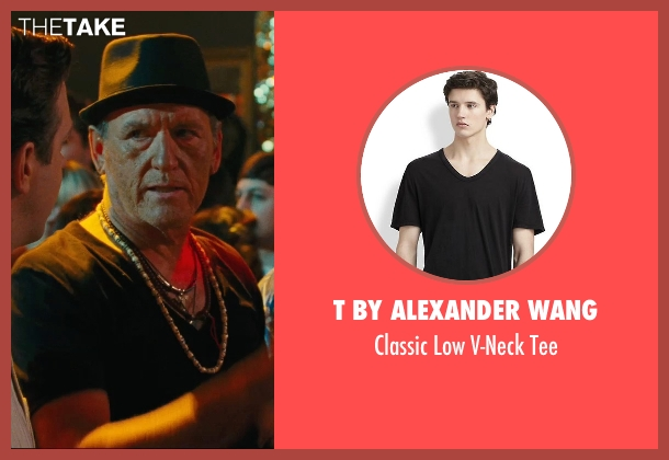 T by Alexander Wang black tee from Hall Pass seen with Richard Jenkins (Coakley)