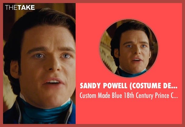 Sandy Powell (Costume Designer) costume from Cinderella seen with Richard Madden (Prince Charming)