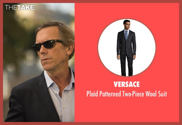 Versace black suit from The Night Manager seen with Richard Onslow Roper (Hugh Laurie)