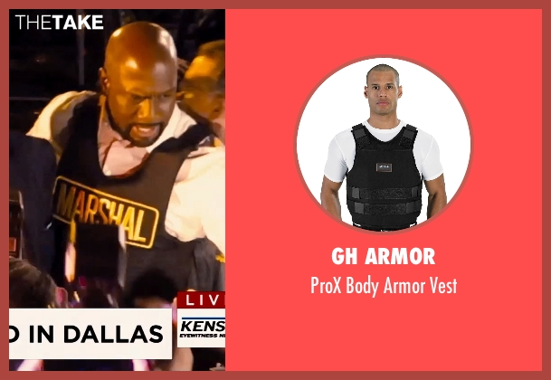 GH Armor vest from Hot Pursuit seen with Richard T. Jones (Det Jackson)