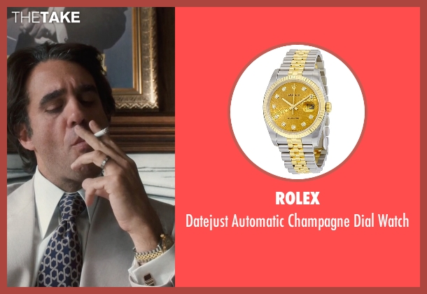 Rolex watch from Vinyl seen with Richie Finestra (Bobby Cannavale)