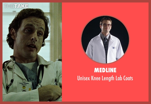 Medline white coats from Fight Club seen with Unknown Actor (Unknown Character)