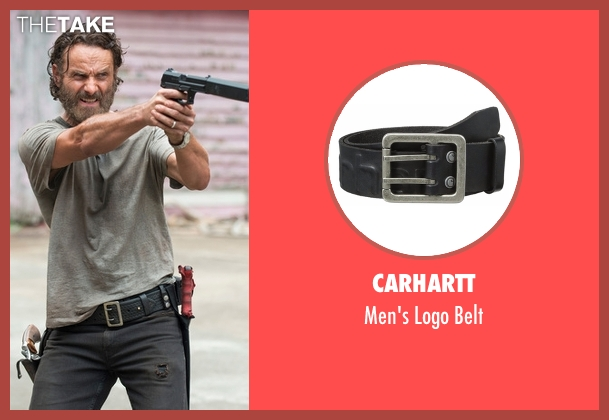 Carhartt black belt from The Walking Dead seen with Rick Grimes (Andrew Lincoln)