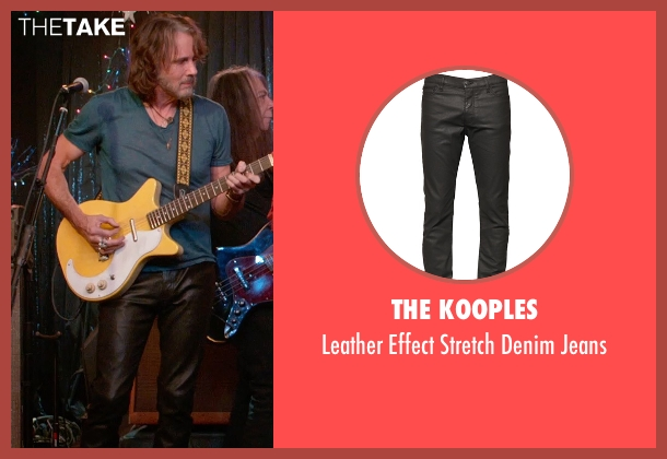 The Kooples black jeans from Ricki and the Flash seen with Rick Springfield (Greg)