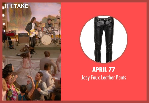 April 77 black pants from Ricki and the Flash seen with Rick Springfield (Greg)