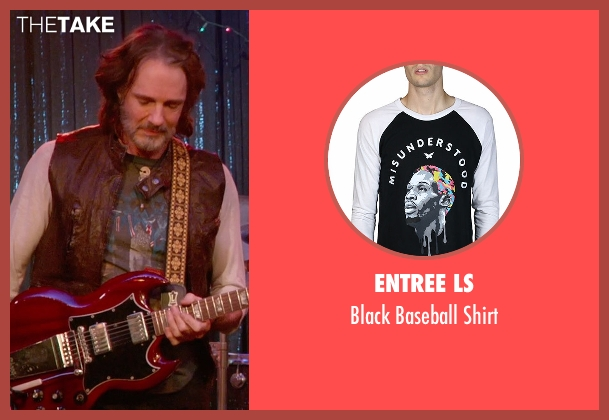 Entree LS black shirt from Ricki and the Flash seen with Rick Springfield (Greg)