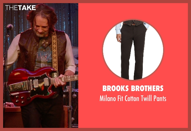 Brooks Brothers brown pants from Ricki and the Flash seen with Rick Springfield (Greg)