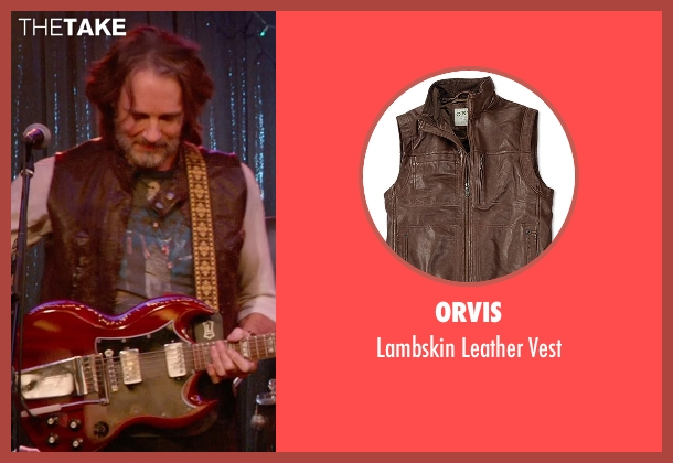 Orvis brown vest from Ricki and the Flash seen with Rick Springfield (Greg)