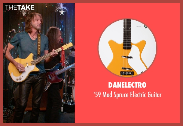 Danelectro guitar from Ricki and the Flash seen with Rick Springfield (Greg)