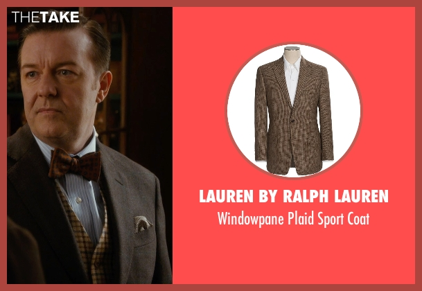 Lauren by Ralph Lauren brown coat from Night at the Museum: Secret of the Tomb seen with Ricky Gervais (Dr. McPhee)